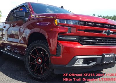 Chevy XFOffroad Nitto